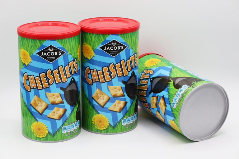 pladis Further Boosts Sustainability Credentials Through Sonoco's Fully Recyclable EnviroCan™
